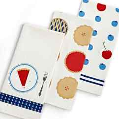 Martha Stewart Kitchen Towels Pictures Of Pot Racks In Kitchens Red White And Blue Style