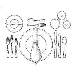 Catering Buffet Set Up Diagram 2002 Ford Focus Stereo Wiring How To A Formal Dinner Table Martha Stewart