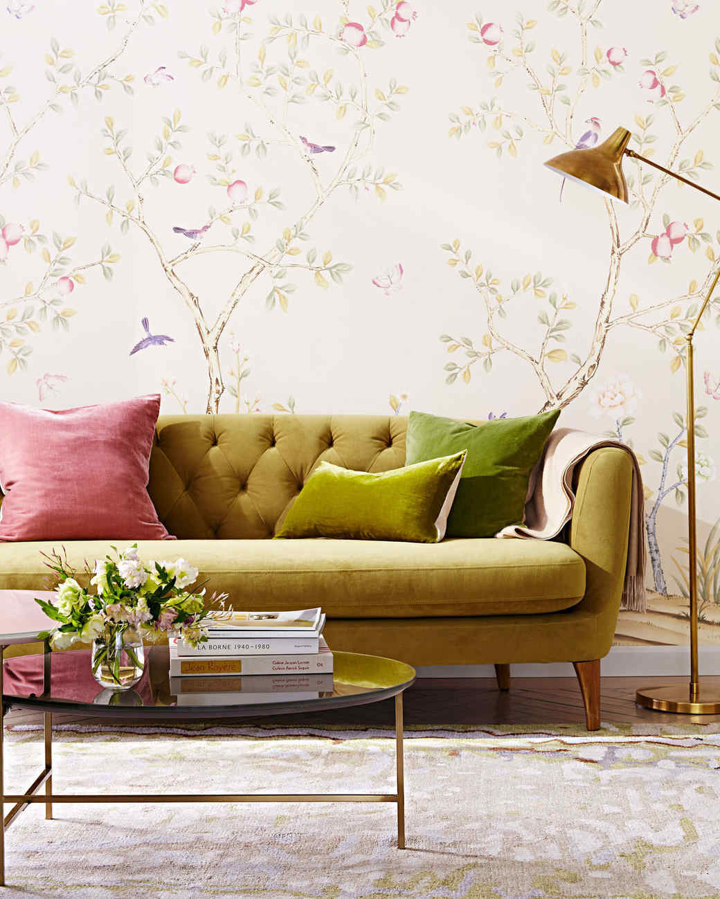 PeelOff Easy to Remove Wallpaper  Martha Stewart