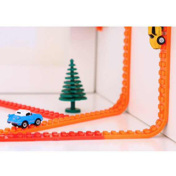 Build Anything You Want On The Wall With This LEGO Tape