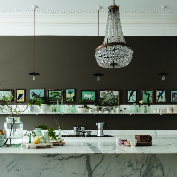 kitchen walls new appliances should you paint your a dark color