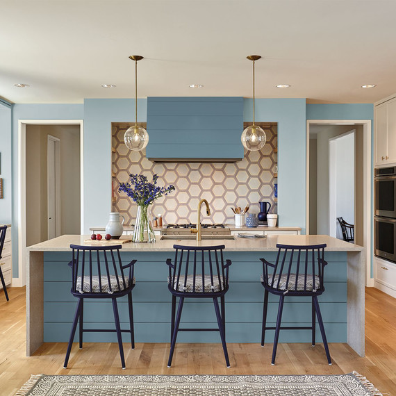 martha stewart kitchen towels area rug behr's 2019 color of the year is perfect for just about ...