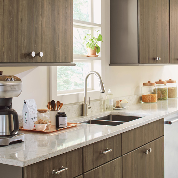 home depot kitchen storage cabinets faucet types these martha-approved will make your more ...