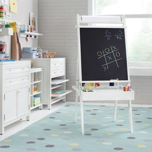 Give Your Kids A Space To Create: 10 Tips for A Kids Craft Room  Kids Craft Room, How to Design a Kids Craft Room, Kids Craft Room Design Tips, Craft Room Design, DIY Craft Room Organization, How to Organize Your Craft Room, Popular Pin