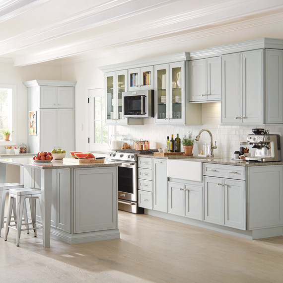 martha stewart white kitchen These Martha-Approved Cabinets Will Make Your Kitchen More