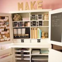 5 Secrets of a Beautifully Organized Craft Room | Martha ...