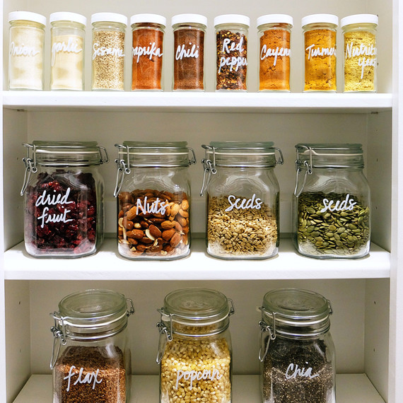 clear kitchen canisters sink overflow 5 easy steps to keep your pantry clean and organized ...