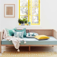 Small Living Room Sofa Color Green Leather This Is How Real Women Are Decorating In 2019 According To Yellow Celadon Decor Blue