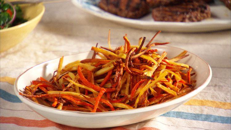 Carrot and Parsnip Fries Recipe  Video  Martha Stewart