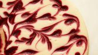 Raspberry-Swirl Cheesecake