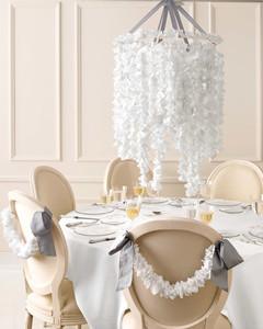 Diy Doily Wedding Chandelier