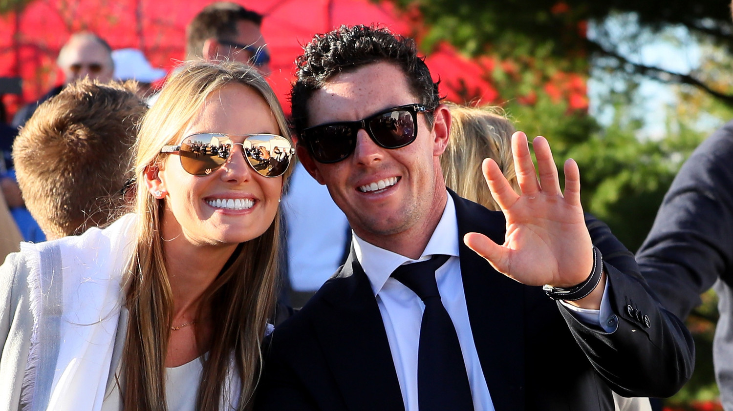 Professional Golfer Rory McIlroy and Erica Stoll Are Married  Martha Stewart Weddings