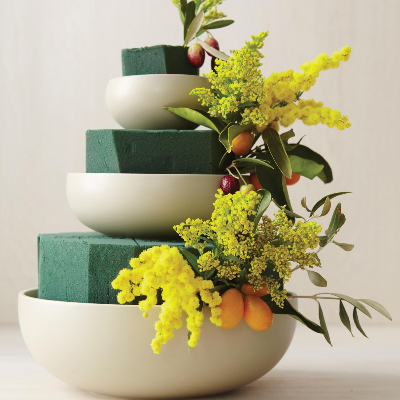 Tiered Bowl Wedding Centerpiece How To Martha Stewart