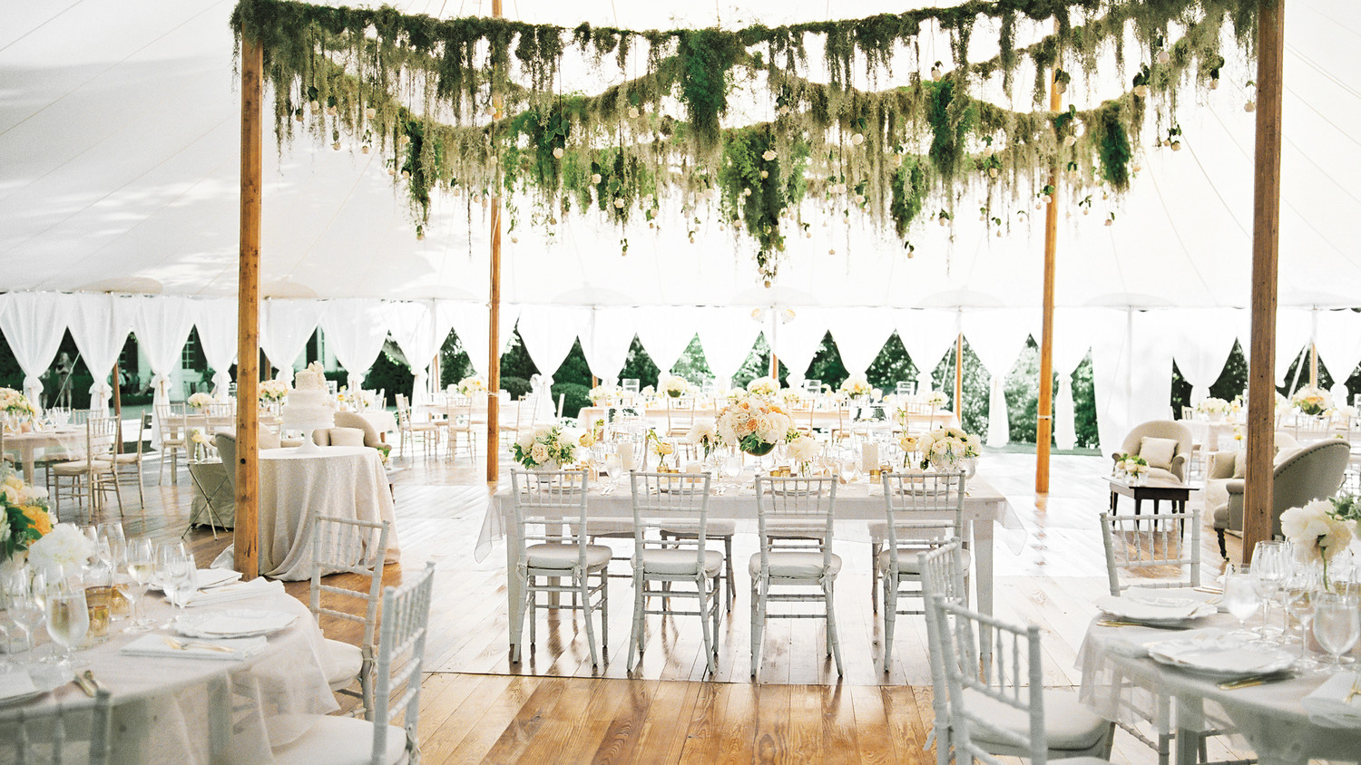 wedding decorations chairs receptions eames aluminum chair replica 28 tent decorating ideas that will upgrade your