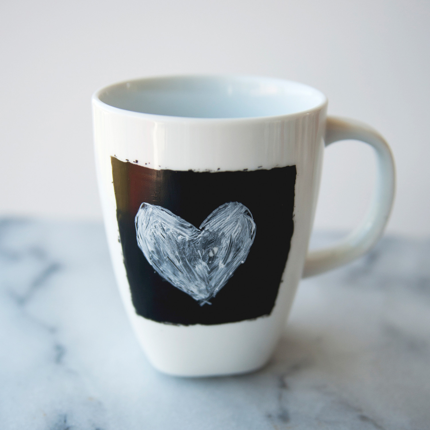 Chalkboard Coffee Mugs  Martha Stewart Weddings