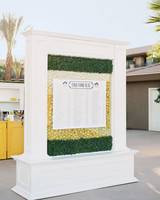 Lemon seating chart stand also unique wedding charts to guide guests their tables rh marthastewartweddings