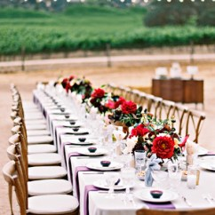 Wedding Decorations Chairs Receptions Teak Steamer Chair 40 Pretty Ways To Decorate Your Martha Stewart Weddings 42 Stunning Banquet Tables For Reception