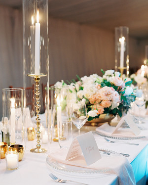 84 candle centerpieces that will light up your reception | martha
