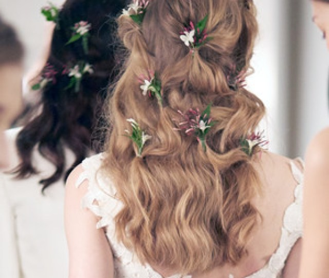 Wedding Hairstyle Ideas From The Spring  Bridal Shows That Play With Texture