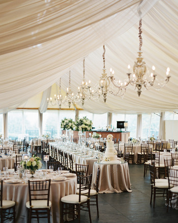 White Centerpieces Source