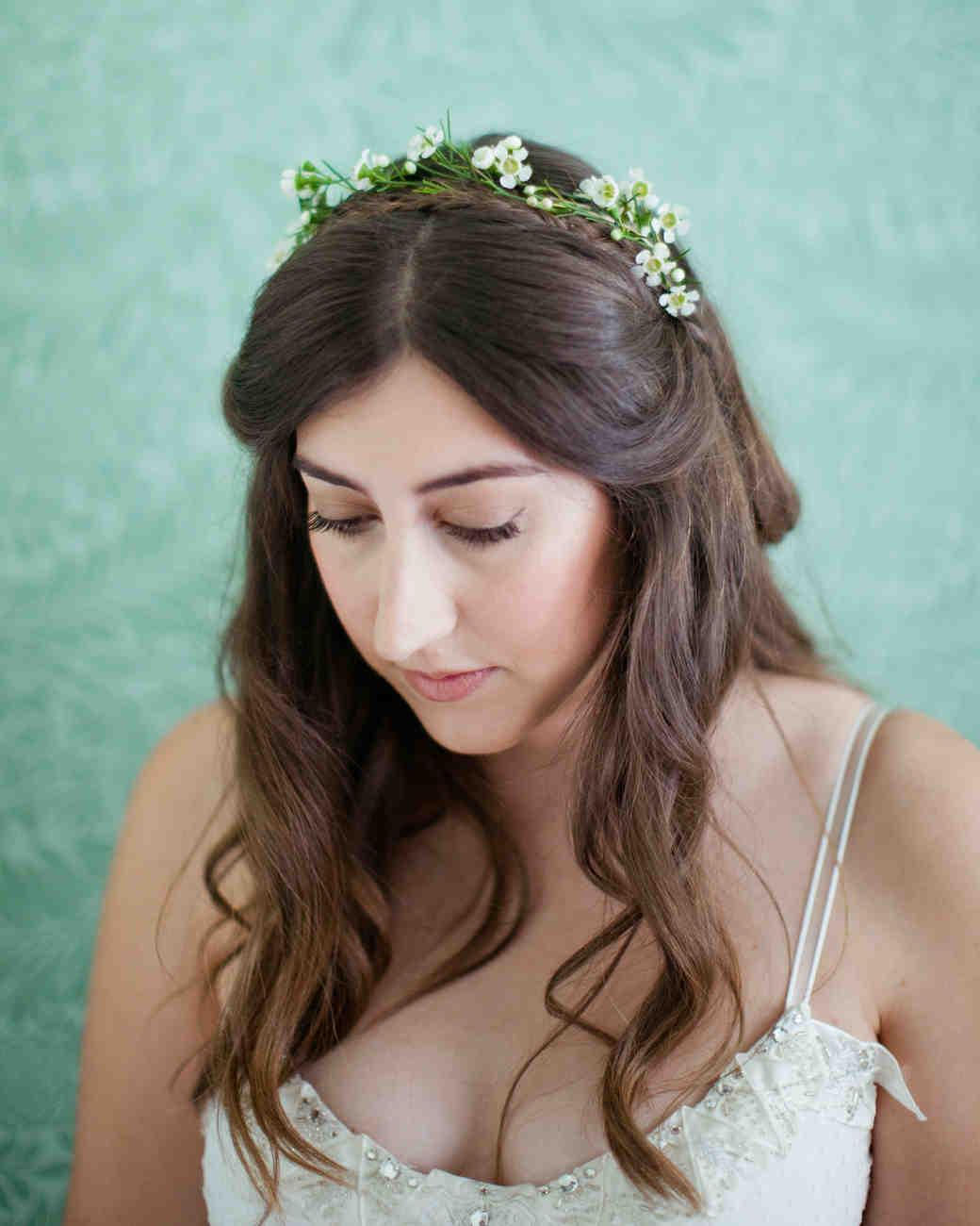 gorgeous medium-length wedding