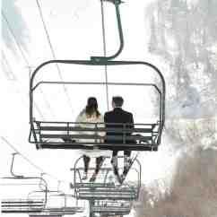 Ski Chair Lift Walmart Living Room Chairs A Rustic Winter Destination Wedding In Sundance Utah