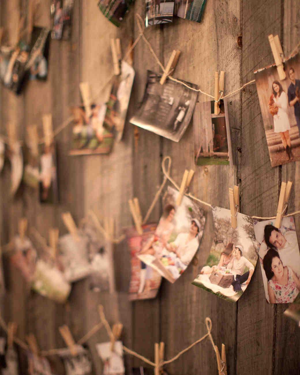 Creative Ways Display Wedding