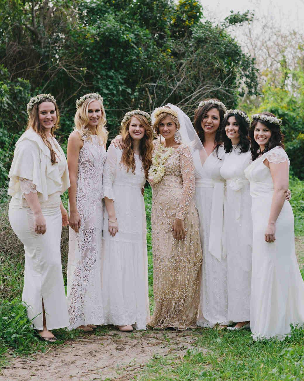 Bohemian Weddings  Martha Stewart Weddings