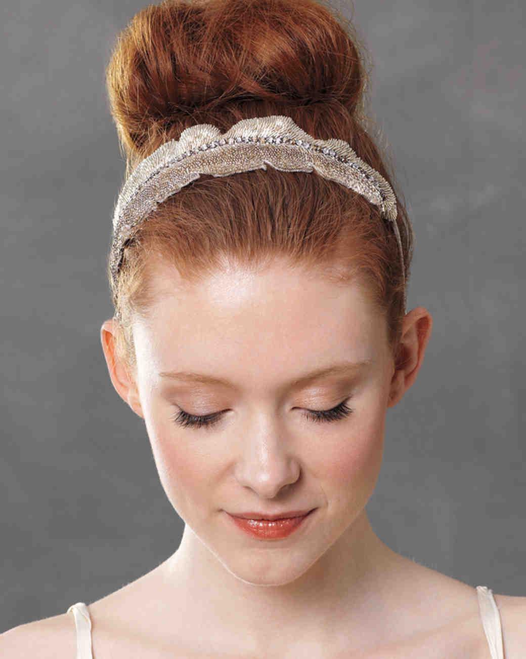 wedding hair accessories martha