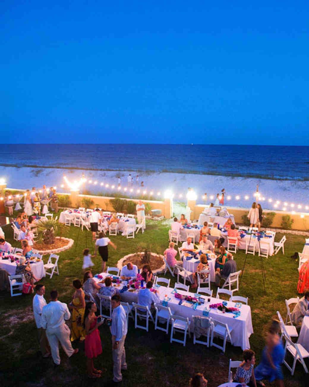 A Vibrant Wedding On The Beach In Florida Martha Stewart