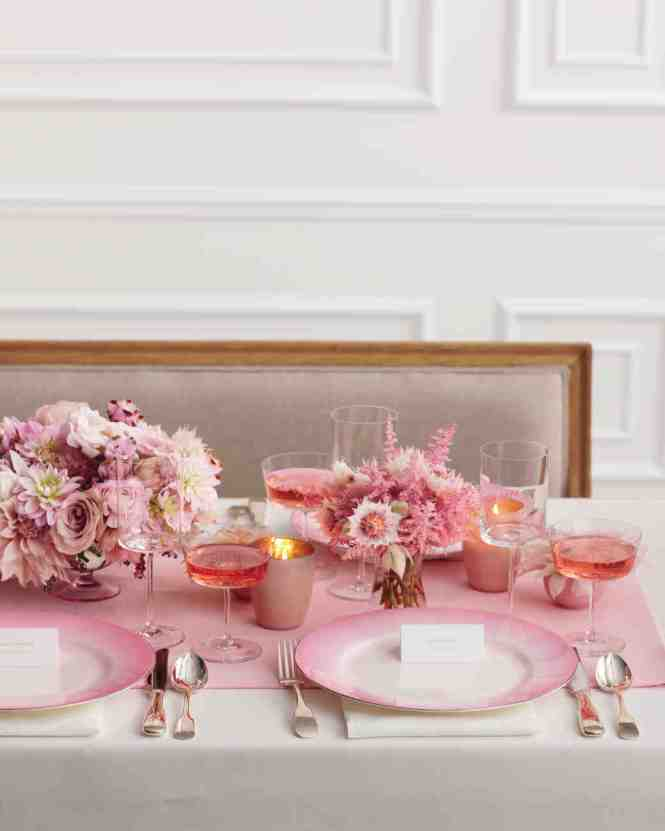 Image Of Bridal Shower Table Decoration Ideas