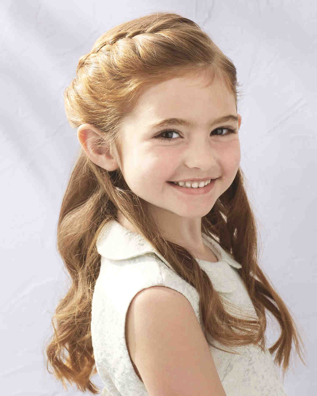 Flower Girl Hairstyles That Are Cute And Comfy Martha Stewart
