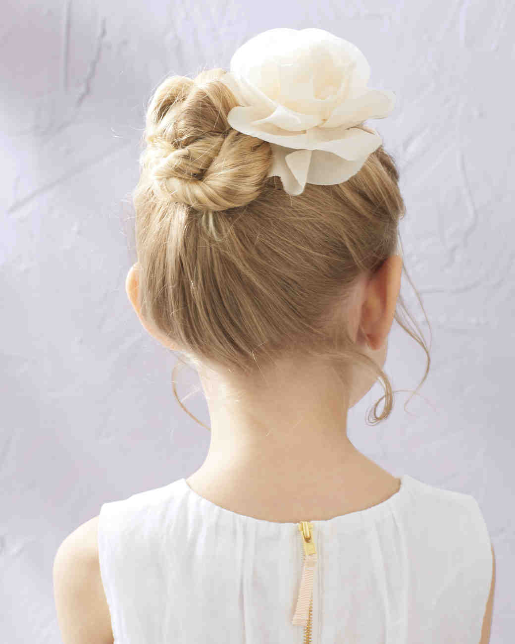 Flower Girl Hairstyles That Are Cute And Comfy Martha