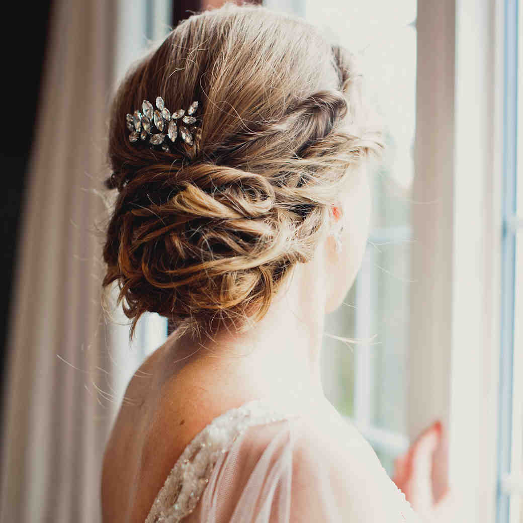 bridal hairstyles martha stewart