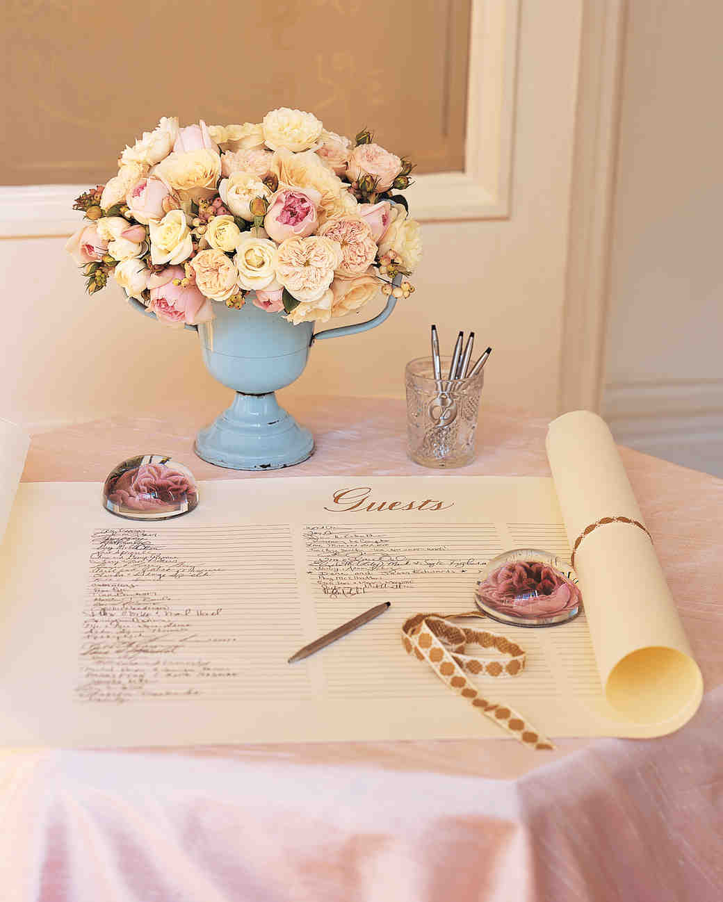 68 Guest Books from Real Weddings  Martha Stewart Weddings