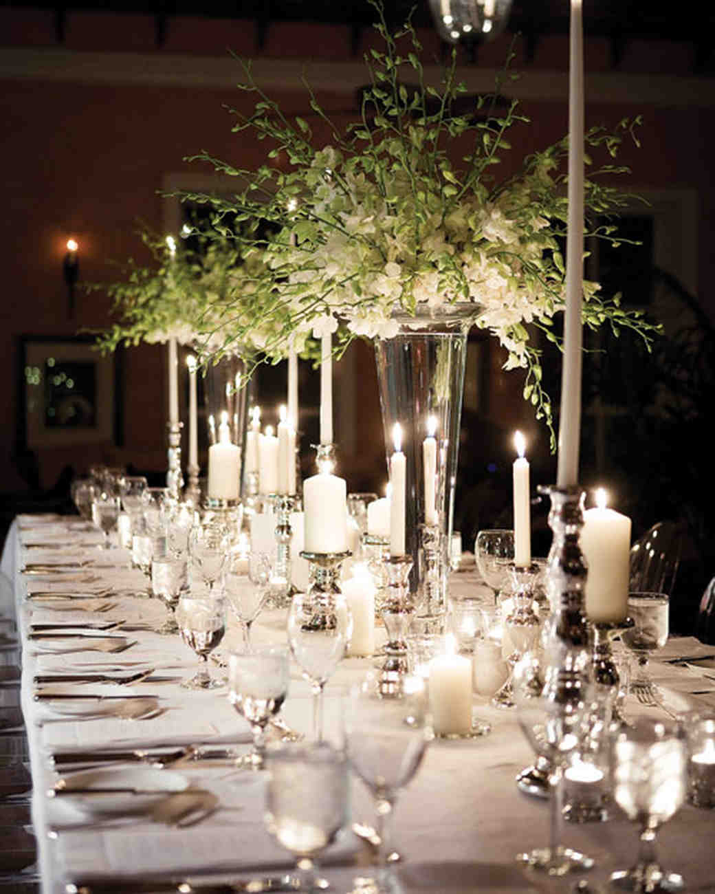 Tall Wedding Table Centerpieces