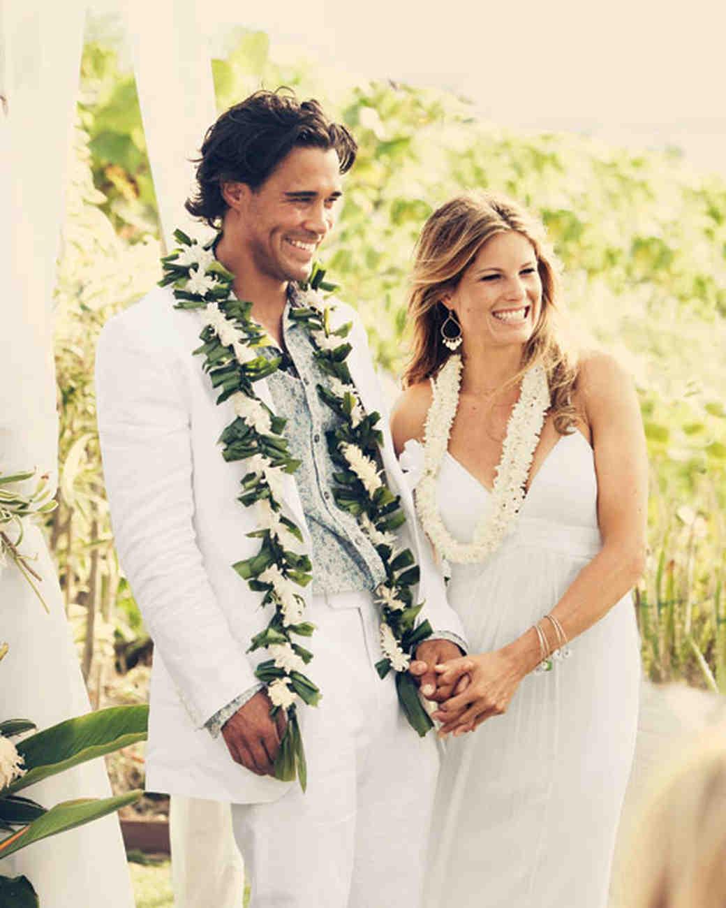 A Traditional Hawaiian Wedding in Maui  Martha Stewart