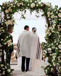 25 Beautiful Chuppah Ideas from Jewish Weddings | Martha ...