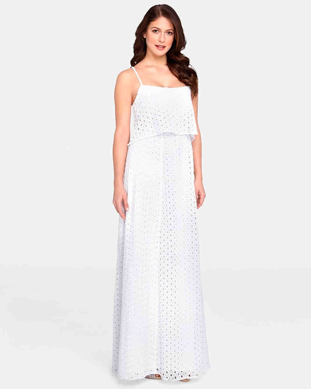 aface75a26617 20 City Hall Wedding Dress Ideas For Making It Official In Style ·  Maternity ...
