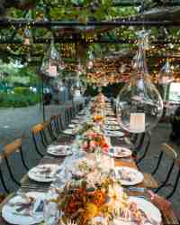 Outdoor Wedding Lighting Ideas from Real Celebrations ...