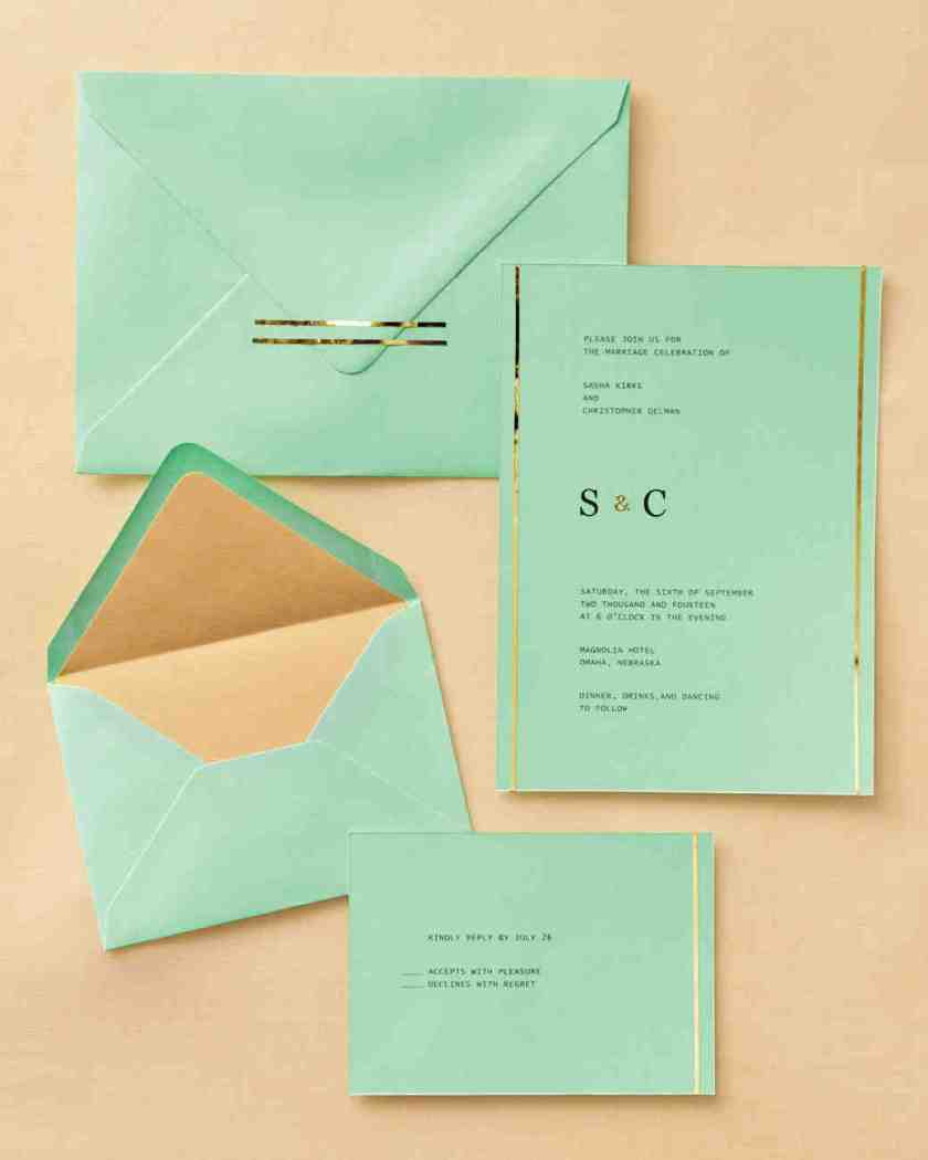 Gold Topped Stationery