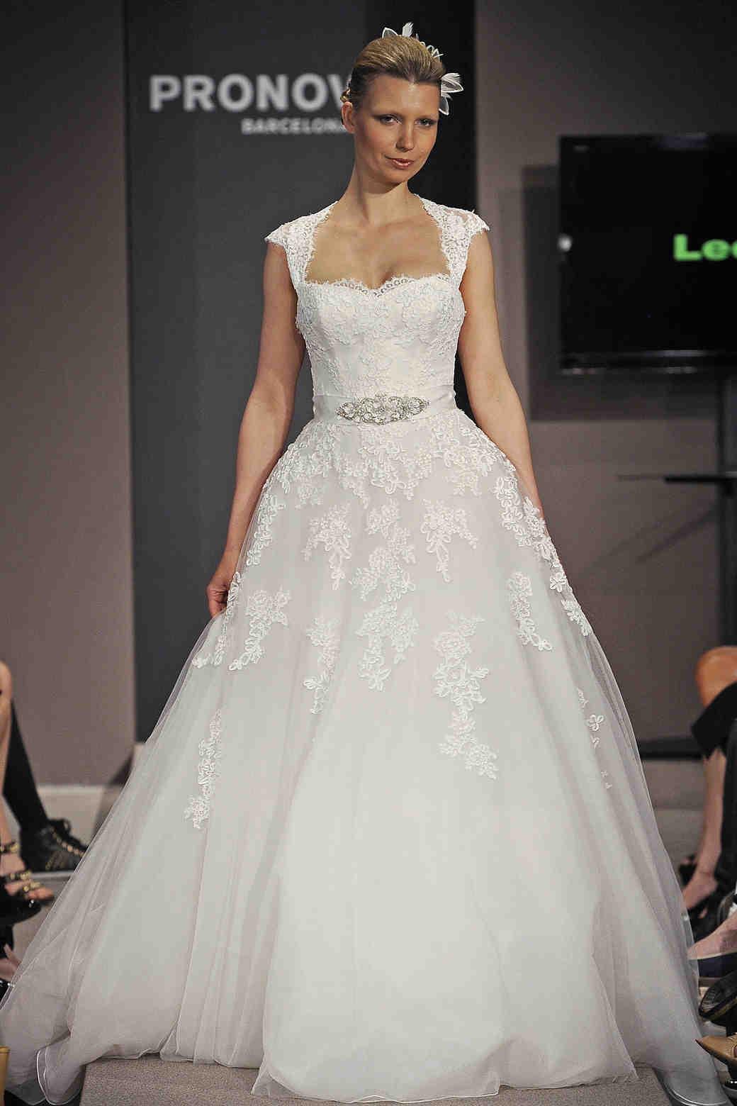 Cap Sleeve Wedding Dresses Spring 2014  Martha Stewart