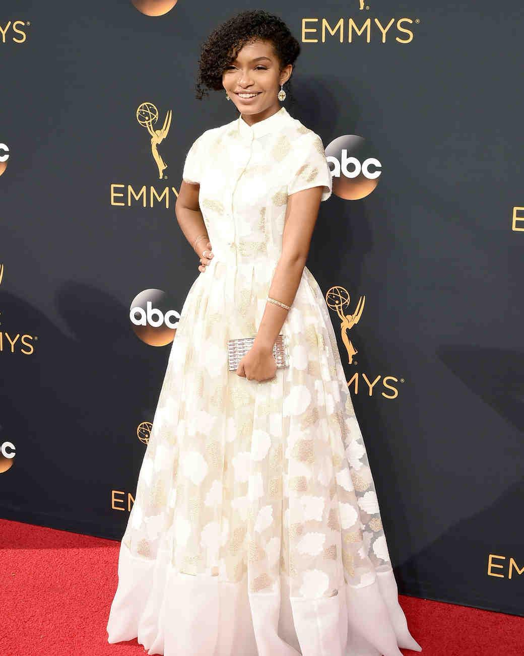 Emmy Awards 2016 Red Carpet Inspire Wedding Dress Martha Stewart Weddings