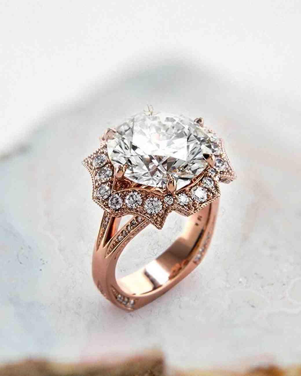 27 Unique Engagement Rings You'll Love | Martha Stewart ...