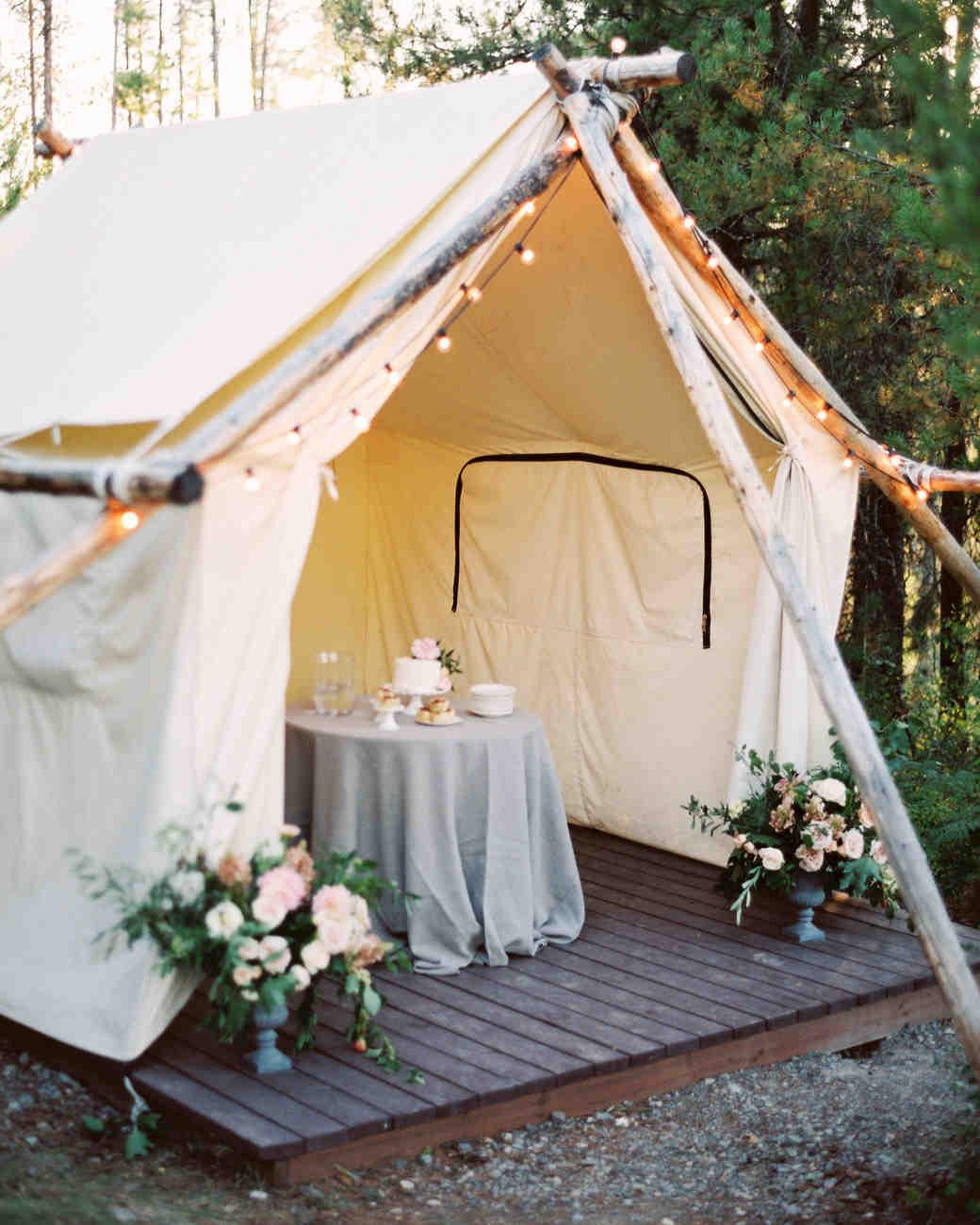 28 Tent Decorating Ideas That Will Upgrade Your Wedding Reception  Martha Stewart Weddings