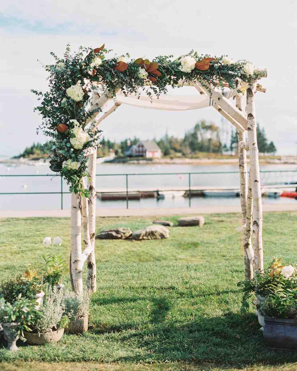 A South Meets East Coast Nautical Maine Wedding Martha