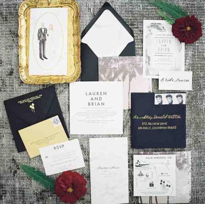 Stylish Wedding Invitation Stationery Impressive Theruntime