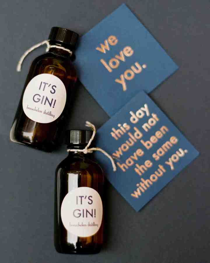 Boozy Favors To Keep The Party Going Post Wedding