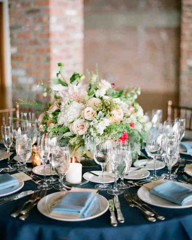 Metallic Table Decor