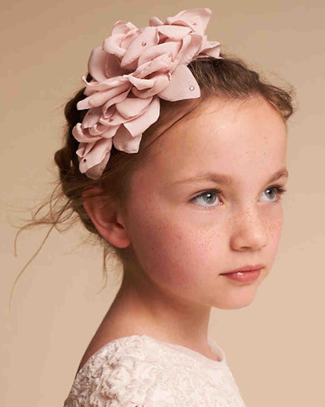 hair accessories flower girl